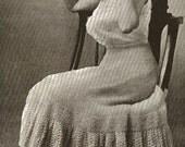 A Wonderful Edwardian Petticoat To Crochet Pattern Digital Download Downton Abbey Era