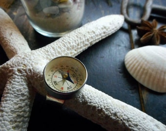A Pirate's ring. Mini Compass Ring