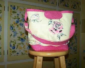 Rose Fabric Tote