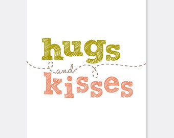 Hugs and Kisses Cheer Up Warrior/Cancer Card