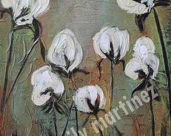 Love of Cotton Original Acrylic Painting