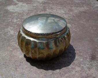 Beautiful Vintage Solid 925 Sterling Silver Hallmarked Trinket Box~ Great Find