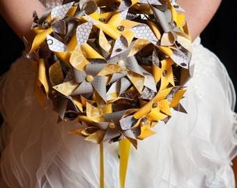 Pinwheel Bouquet by Rule42 - custom bouquet for Jen