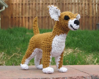 Chihuahua PDF Crochet Pattern - Digital Download - ENGLISH ONLY