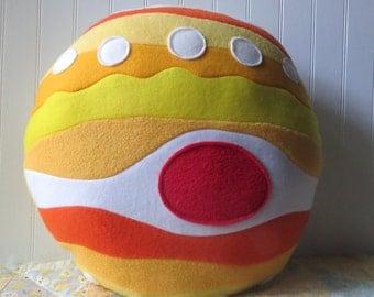 Jupiter Pillow, Planet Pillow, Jupiter Plush