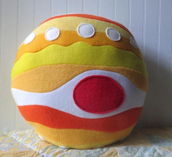 Jupiter pillow planet pillow jupiter plush for Solar system fleece