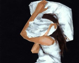 Covered . giclee art print