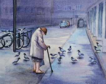The Pigeon Lady