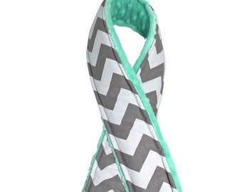 Pick COLORS Chevron Camera Strap Cover DSLR - (medium size chevron) CANON Nikon