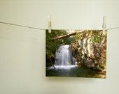 Nature Photography, Backcountry Waterfall,  Fine Art Nature Print, Home Decor, Wall Decor