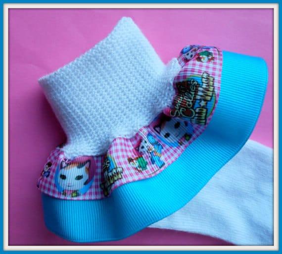 Custom Order for Shanda - Sheriff Callie Socks - priority shipping
