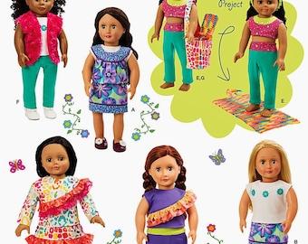 "18 inch Doll Clothes Pattern, 18"" Doll Clothes Pattern, Simplicity Sewing Pattern 1513"