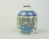 Royal Copenhagen Denmark Fajance Small Ceramic Bottle or Pitcher by Marianne Johnson