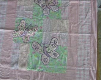 Satin Edged Baby Quilt
