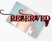 RESERVED FOR Candice