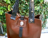 25% off with thanks2013 coupon code Triple Upcycled Belt Large Leather Tote