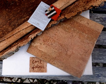 """Low cost cork fabric, cork sheet, vegan leather, Eco Friendly Supplies made in Portugal 25x40cm 10x15 3/4"""", tela de corcho, Christmas crafts"""