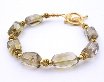 Her Quartz Bracelet - Smoky Yellow