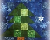 Block of The Month 2014 May's Block, Fir Tree PDF Pattern