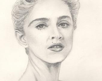 madonna original portrait...