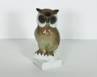 vintage ceramic owl made in west germany