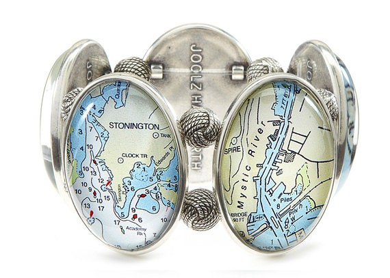Connecticut Shore Five-Cameo Stretch Bracelet