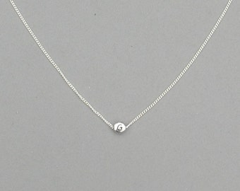 Initial G Bead Necklace