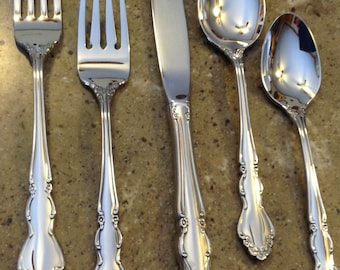 Vintage International Silver Deluxe Stainless By