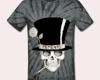 Voodoo Baron Samedi tie dye T shirt