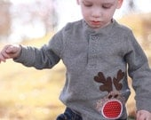 Sock Monkey Reindeer Shirt