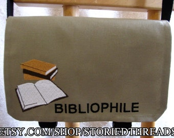Bibliophile Messenger Bag