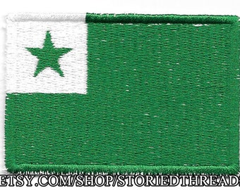 Esperanto Flag Patch