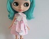 Blythe dress 'SpOT tHe NaRwHaL'
