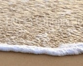 RESERVED LISTING FOR P. - Breaking Waves, Ocean Waves, Beach, Fine Art Photography, Glistening Light on Water, Golden Sand, Surf, Seaside