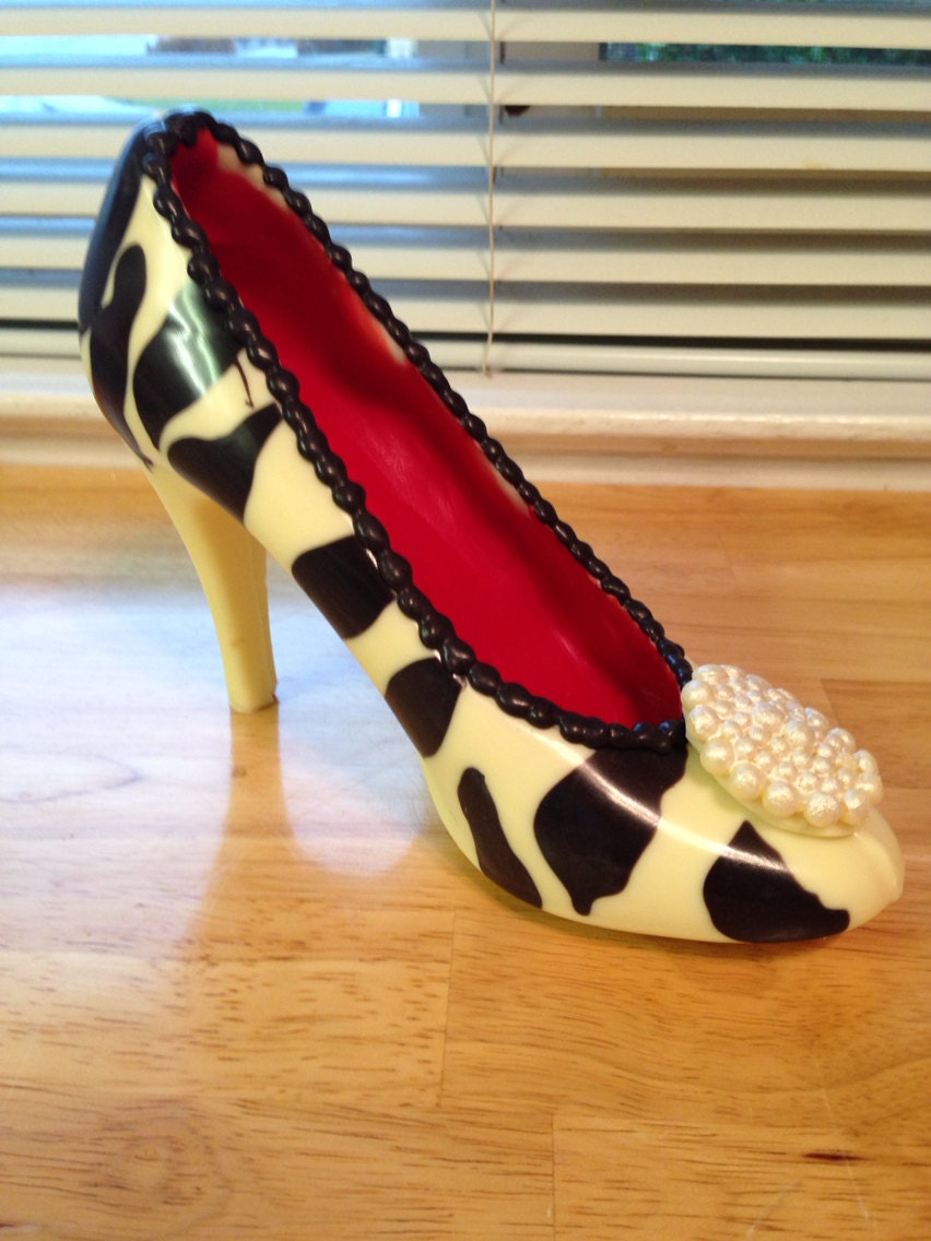high heel chocolate shoe by expresssugardesigns on etsy