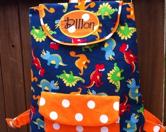 Toddler Backpack with personalization