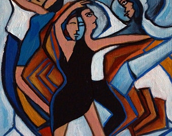 Bleu Danse 8x8