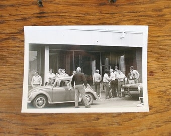 Vintage VW Bug Original Photograph - 5 x 7