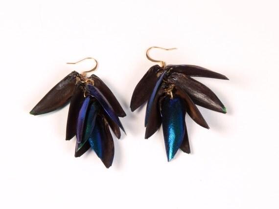 Medium Long Emerald Wings