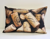 Wine Cork pillow