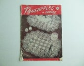 Vintage Crochet Book 1948 Pineapples on Parade
