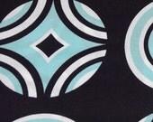 Benartex Kanvas - Op Art Reflections -Optic Coaster Black