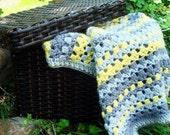 Lazy Day Blanket Crochet PATTERN Instant Download