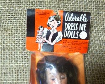 Dress Me Doll Vintage Playtime
