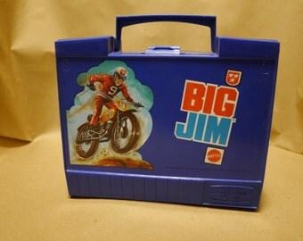 1972 Mattel Big Jim plastic lunchbox