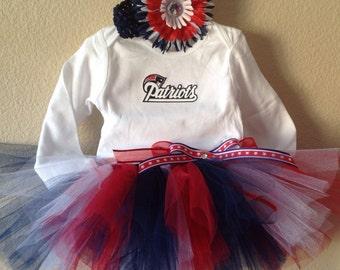 Patriots Tutu, Patriots Tutu Outfit, New England Patriots, Patriots Baby