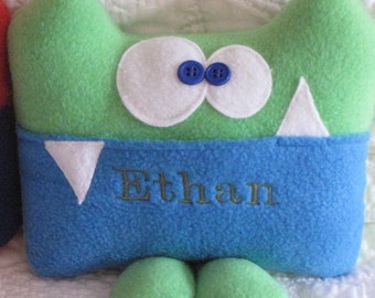 Sherman the Personalized Tooth Fairy Critter and Tooth Chart by Kooky Critters™