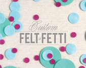 Felt Circles // Felt-Fetti by Benzie // Die Cuts, Assorted Sizes, Garland Kit, Felt Applique, Penny Rug, Party Confetti