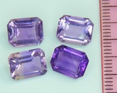 8.35 CTS purple amethyst lot octagon cut, Brazil