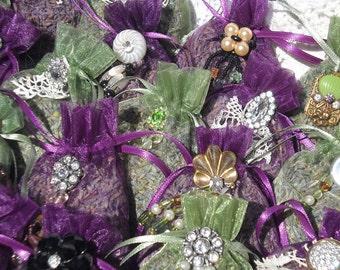 Beautiful Lavender Sachets Set of Three